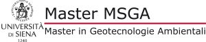 Master Universitario in Geotecnologie Ambientali